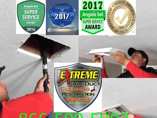 Extreme Air Duct Cleaning and Restoration Services on Google