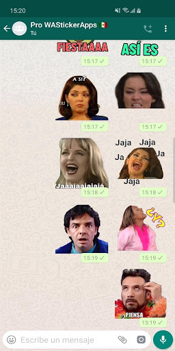 ?? Mexican memes Stickers - New WAStickerApps 2.8.0 screenshots 2