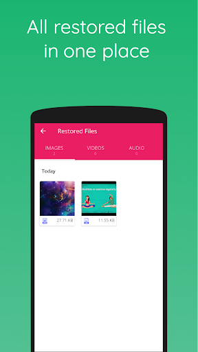 Recover Bin Free: Trash for Android, Recover Files screenshot 5