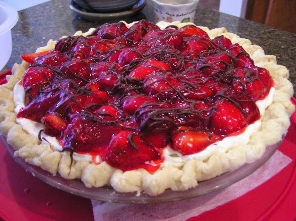 Fresh Strawberry Cream Pie Recipe