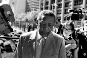 More allegations: Former police commissioner Jackie Selebi arrives at the Johannesburg high court yesterday. Pic: Peter Mogaki. 07/10/2009. © Sowetan.
