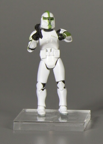 Action figure:Star Wars The Anniversary Collection: Clone Trooper Officer - Sergeant - Low Dots Version