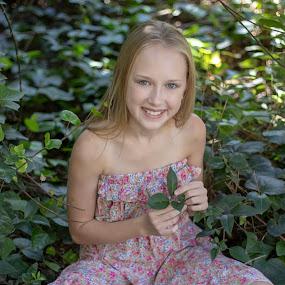 by Hayley Onselen - Babies & Children Child Portraits ( happy, garden, child, smile )