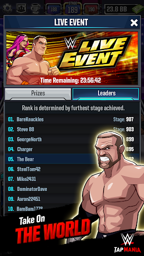 WWE Tap Mania: Get in the Ring in this Idle Tapper 17637.20.0 screenshots 5