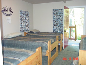 Photo: Cabin 5 bedroom.  Full bathroom & kitchen in cabin 5 as well but not pictured.
