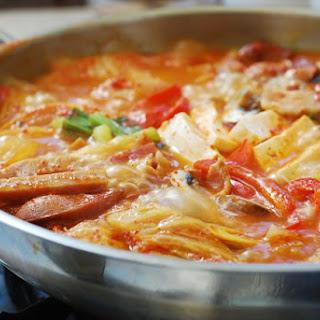 Budae Jjigae (Army Stew).