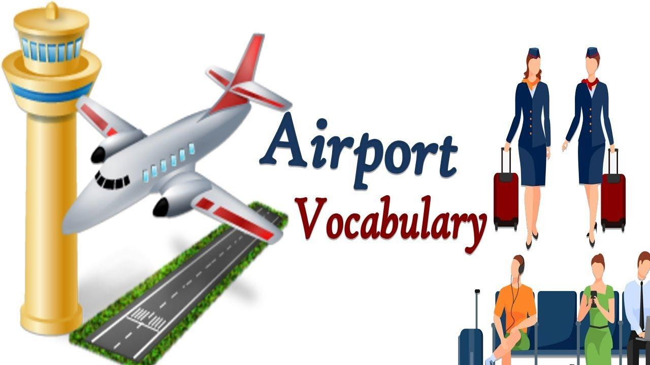 Vocabulary Practice| Airport Vocabulary English | Toddler Learning |  English Words| Kids - YouTube