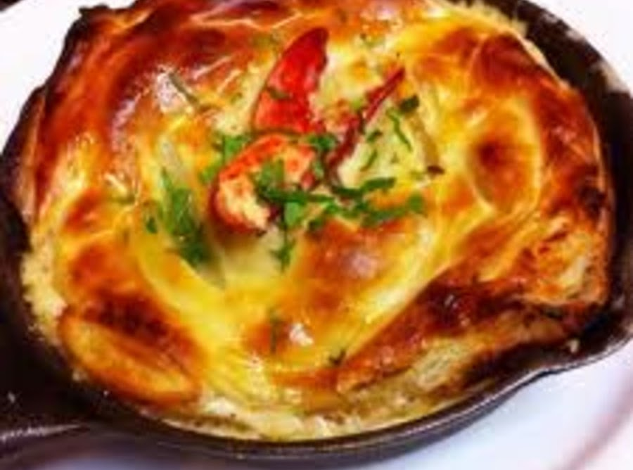 Auntie norma jean 39 s lobster pot pie recipe just a pinch for Fish pot pie