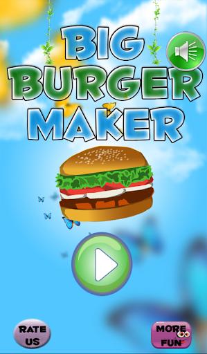 Big Burger Maker - Hamburger