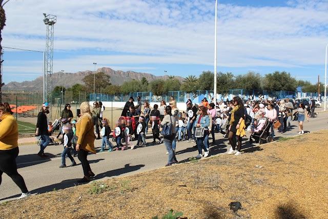 Desfile de Carnaval en San Juan de los Terreros.