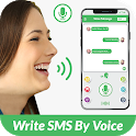 Write SMS By Voice - Voice SMS Write Voice Message icon