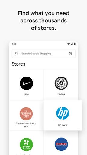 Google Express screenshot 3