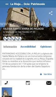 Turismo Accesible by Equalitas Screenshot