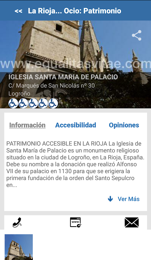 Turismo Accesible by Equalitas- screenshot