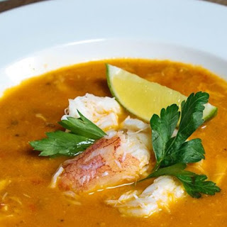 Chilapachole (Spicy Tomato Crab Soup).