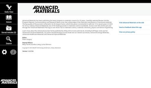 玩免費新聞APP|下載Advanced Materials app不用錢|硬是要APP