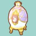 ラベンダーのエッグランプ