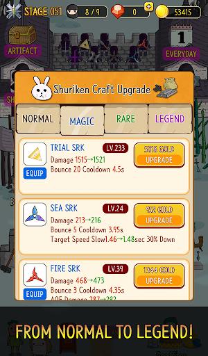 NINJA SHURIKEN - Legend Defense screenshot 23