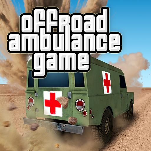 赛车游戏の4x4のオフロード救急車のゲーム LOGO-記事Game