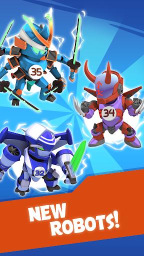 Merge Robots - Click & Idle Tycoon Games 1.3.2 screenshots 1