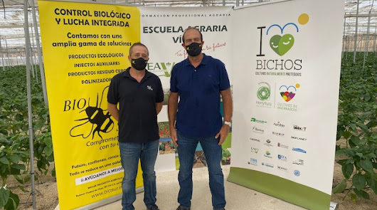 Biosur y Escuela Agraria de Vícar colaboran para el control integrado de plagas