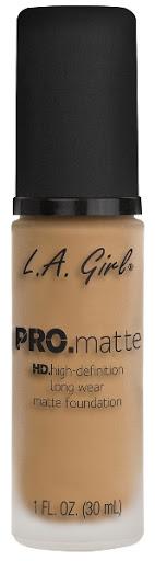 Bases La Girl Pro Matte 718 Sand Beige