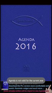 Agenda 2016- screenshot thumbnail