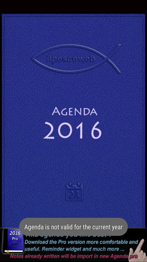 Agenda 2016- screenshot