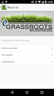 Egrassrootsbusiness.com- screenshot thumbnail