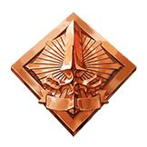 銅のセイバーバッヂ