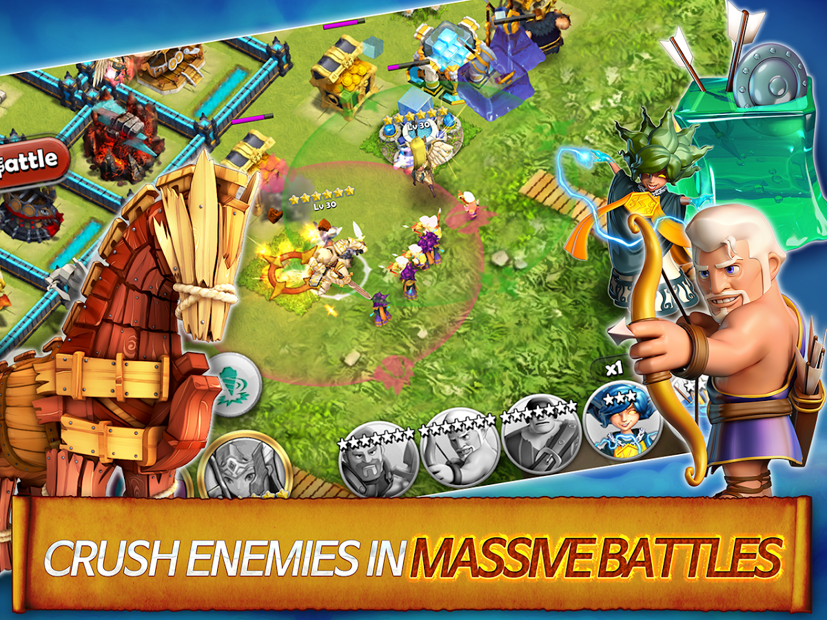 Hero Sky: Epic Clash- screenshot