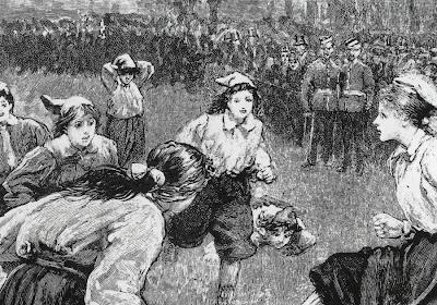 125 jaar geleden ... ontstond het vrouwenvoetbal