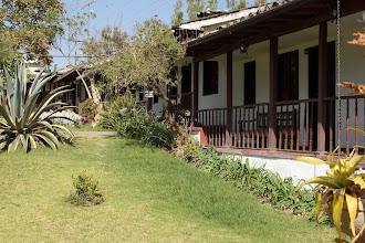 Photo: We wake up in Ibarra at Hacienda Chorlavi. Hacienda Chorlavi used to be a Jesuit monastery.