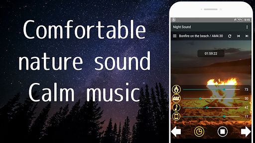 Nature Sounds of the night for comfortable sleep screenshots 1
