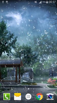Raindrop Live Wallpaper PRO HD - screenshot