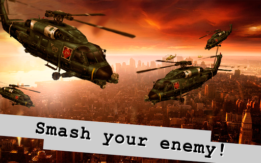 World War: Tanks Helicopters