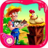 Chicken and Duck Breeding Farm-A Poultry Eggs Game