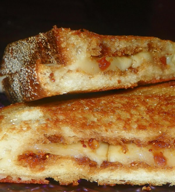 Fontina Grilled Cheese Sandwiches W/fig Jam For Recipe 2