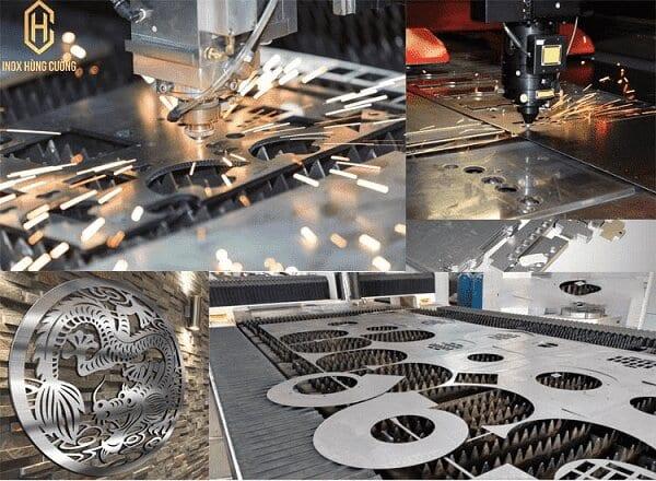 Cắt CNC inox tại TpHCM