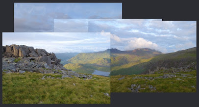 Photo: Early morning on Glyder Fach summit