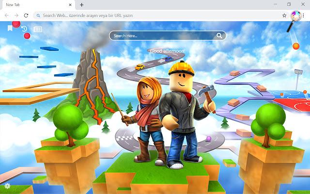 Roblox VS Minecraft HD Wallpapers New Tab