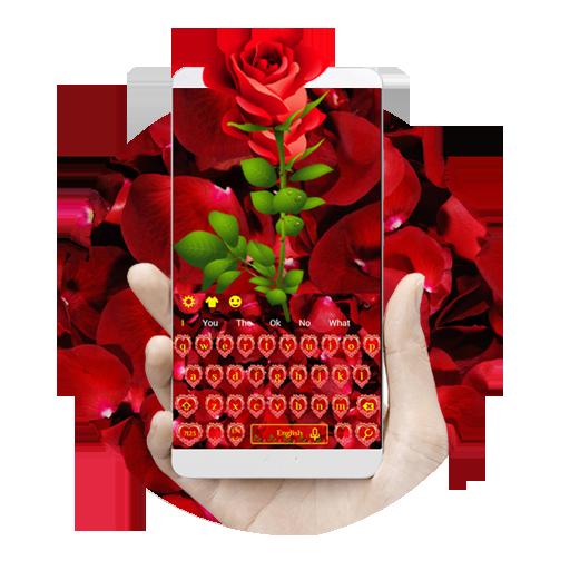 Heart Roses Keyboard