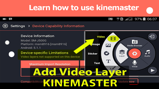 how to use kinemaster full tutorial