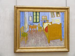 "Photo: The third version of Van Gogh's ""Bedroom in Arles,"" from 1889."