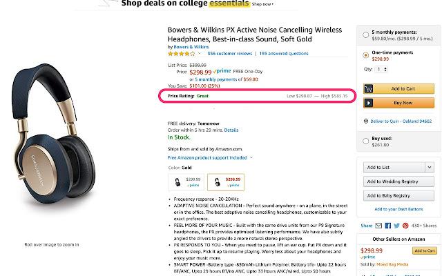 Amazon Deal Finder