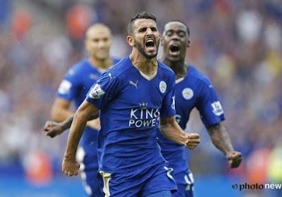 Pas de pression à Leicester selon Mahrez