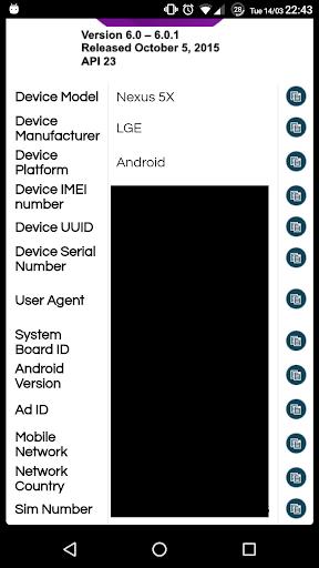 my device ids screenshot 2