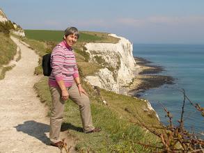 Photo: Na klifie w Dover.