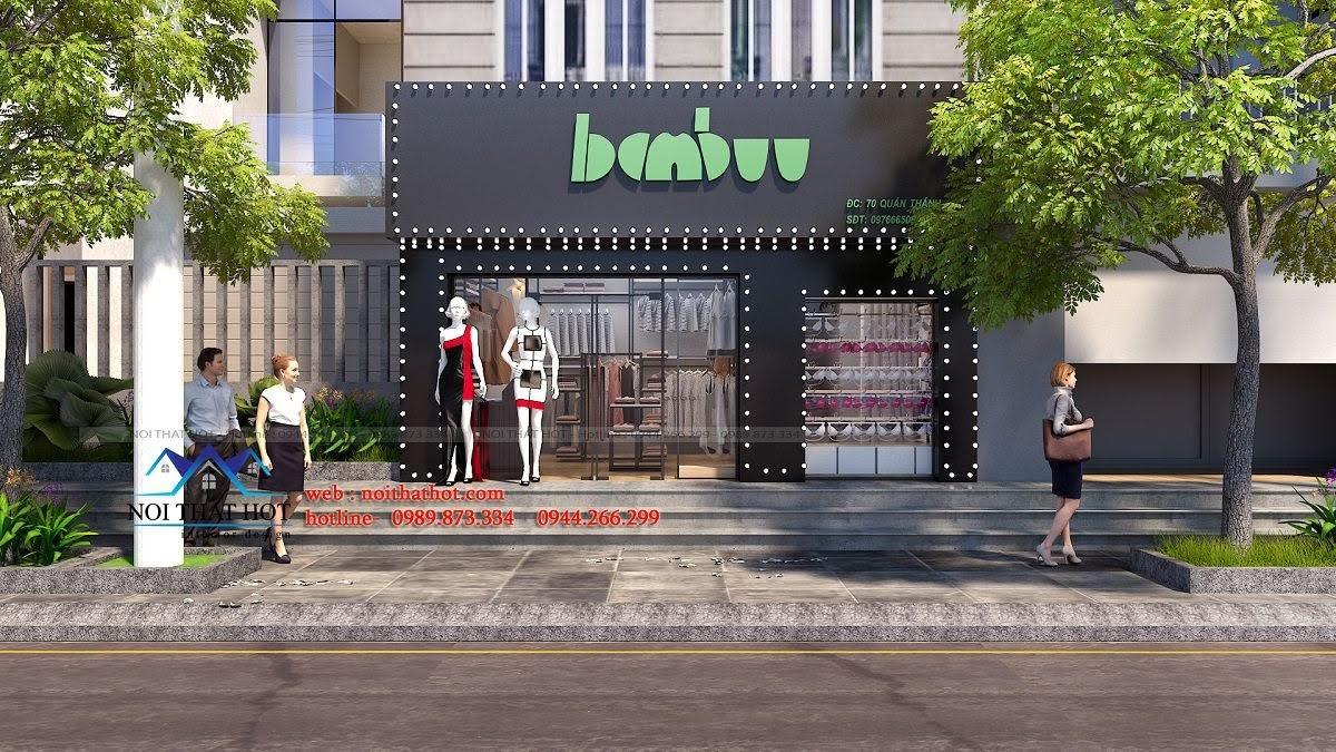 thiết kế shop thời trang nữ 1