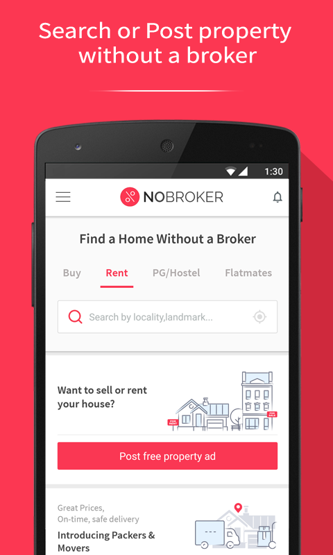 NoBroker Flats House Home Rent- screenshot